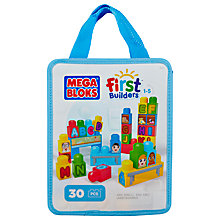 Buy Mega Bloks First Builders ABC Spell! Online at johnlewis.com