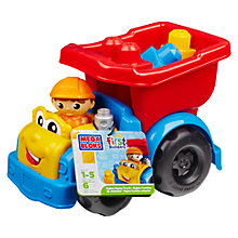 Buy Mega Bloks Dylan Dump Truck Online at johnlewis.com