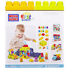 Buy Mega Bloks First Builders ABC School Bus Building Blocks Online at johnlewis.com