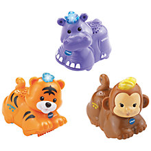 Buy VTech Toot-Toot Animals SmartPoint Figures, Pack of 3 Online at johnlewis.com