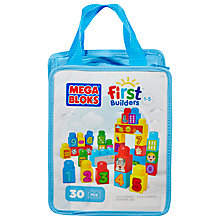 Buy Mega Bloks First Builders 1-2-3 Count! Online at johnlewis.com