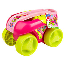Buy Mega Bloks First Builders Play 'n' Go Wagon, Pink Online at johnlewis.com