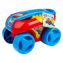 Buy Mega Bloks First Builders Play 'n' Go Wagon, Classic Online at johnlewis.com