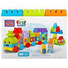 Buy Mega Bloks First Builders 1-2-3 Learning Train Online at johnlewis.com