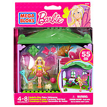 Buy Mega Bloks Barbie Build 'n' Play Fairy Hideaway Online at johnlewis.com