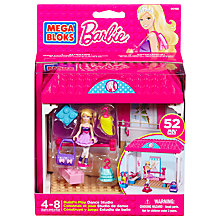 Buy Mega Bloks Barbie Build 'n' Play Dance Studio Online at johnlewis.com