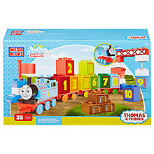 Buy Mega Bloks Junior Builders Thomas The Tank Engine: 123 Count With Thomas Online at johnlewis.com