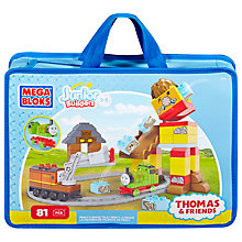 Buy Mega Bloks First Builders Thomas The Tank Engine: Percy's Brave Tale Online at johnlewis.com