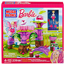Buy Mega Bloks Barbie Build 'n' Play Tree House Online at johnlewis.com
