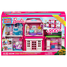 Buy Mega Bloks Barbie Build 'n' Play Fab Mansion Online at johnlewis.com