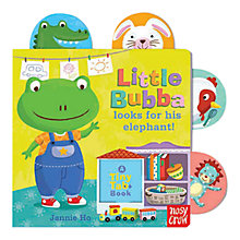 Buy Little Bubba Looks For His Elephant Tiny Tab Book Online at johnlewis.com