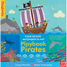 Buy Playbook Pirates Pop-Up Book & Play Mat Online at johnlewis.com