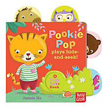 Buy Pookie Pop Plays Hide & Seek! Tiny Tab Book Online at johnlewis.com