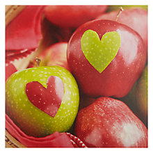 Buy Paperrose Apple Hearts Valentine's Card Online at johnlewis.com