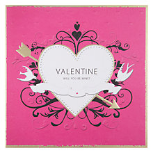 Buy Mint Publishing Will You Be Mine Valentine's Card Online at johnlewis.com