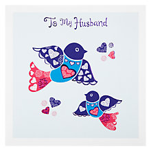 Buy Paperhouse Birds Valentine's Card Online at johnlewis.com