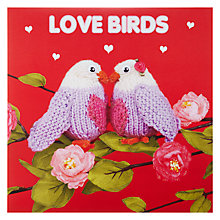 Buy Mint Publishing Love Birds Valentine's Card Online at johnlewis.com