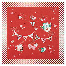 Buy Mint Publishing I Love You Bunting Valentine's Card Online at johnlewis.com