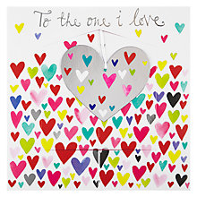 Buy Rachel Ellen Valentines Shimmy Valentine's Card Online at johnlewis.com