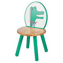 Buy John Lewis Baby's Noah's Ark Crocodile Chair, Green Online at johnlewis.com