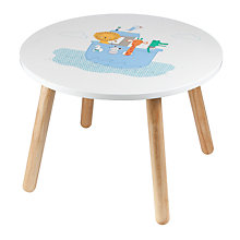 Buy John Lewis Baby's Noah's Ark Table, White Online at johnlewis.com