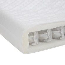 Buy John Lewis Pocket Spring Cot Mattress, 140 x 70cm Online at johnlewis.com