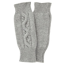 Buy John Lewis Cashmere Cable Fingerless Gloves Online at johnlewis.com