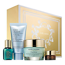 Buy Estée Lauder Protect with Daywear Skincare Set and Estée Lauder DayWear Sheer Tint Release Advanced Multi-Protection Anti-Oxidant Moisturizer with FREE Gloss Favourites Gift Set Online at johnlewis.com