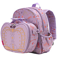 Buy Babymel Princess Backpack & Lunch Bag, Purple/Multi Online at johnlewis.com