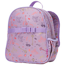 Buy Babymel Princess Single Backpack, Purple/Multi Online at johnlewis.com