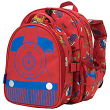Buy Babymel Trains Backpack & Lunch Bag, Red/Blue Online at johnlewis.com