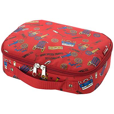 Babymel Trains Food Bag, Red/Multi