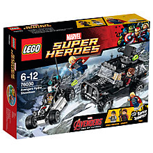 Buy LEGO Super Heroes 76030 Avengers Hydra Showdown Online at johnlewis.com