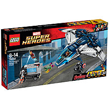 Buy LEGO Super Heroes The Avengers Quinjet Chase Online at johnlewis.com