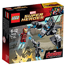 Buy LEGO Super Heroes Avengers Iron Man vs. Ultron Online at johnlewis.com