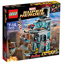 Buy LEGO Super Heroes Attack on Avengers Tower Online at johnlewis.com