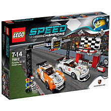 Buy LEGO Speed Champions Porsche 911 GT Finish Line Online at johnlewis.com
