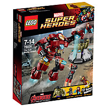 Buy LEGO Super Heroes The Hulk Buster Smash Online at johnlewis.com