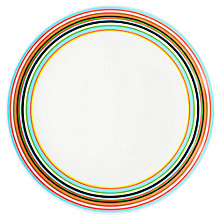 Buy Iittala Origo Striped Plate, Dia.20cm Online at johnlewis.com