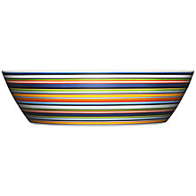 Buy Iittala Origo Striped Serving Bowl, 2.0L Online at johnlewis.com