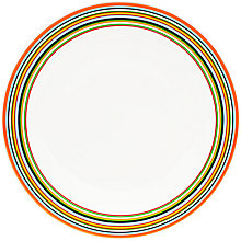 Buy Iittala Origo Striped Plate, Dia.26cm Online at johnlewis.com