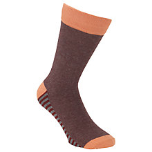 Buy Selected Homme Stripe Sock, One Size Online at johnlewis.com