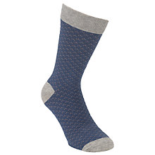 Buy Selected Homme Texture Socks, One Size Online at johnlewis.com