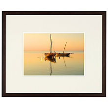 Buy Rikard Stadler - Zanzibar Sunrise Framed Print, 42 x 51cm Online at johnlewis.com