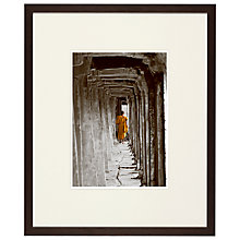 Buy Buddhist Monk Framed Print, 51 x 42cm Online at johnlewis.com