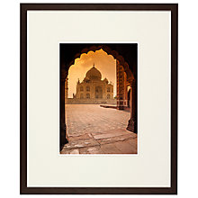 Buy Taj Mahal Framed Print, 42 x 51cm Online at johnlewis.com