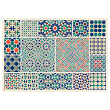 Buy Owen Jones - Moorish Design Print on Canvas, 100 x 70cm Online at johnlewis.com
