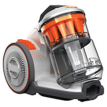 Buy Vax C88-AM-Be Air Compact Cylinder Vacuum Cleaner, Silver/Orange Online at johnlewis.com