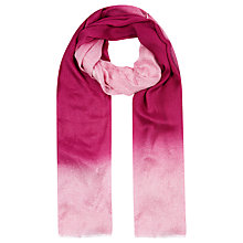 Buy Windsmoor Ombre Scarf, Magenta Online at johnlewis.com