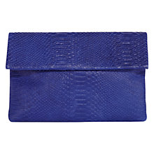Buy Coast Tilly Leather Flap Clutch Bag Online at johnlewis.com